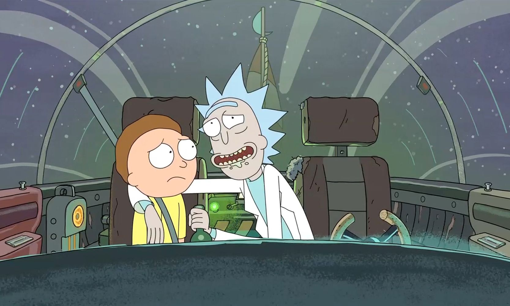Comedy Central Rick And Morty